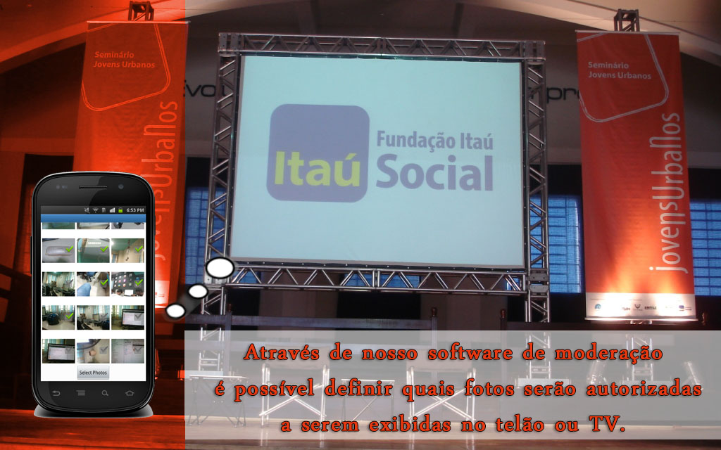 software_android_instagram_moderador_moderator_screen_telao_tv_hashtag