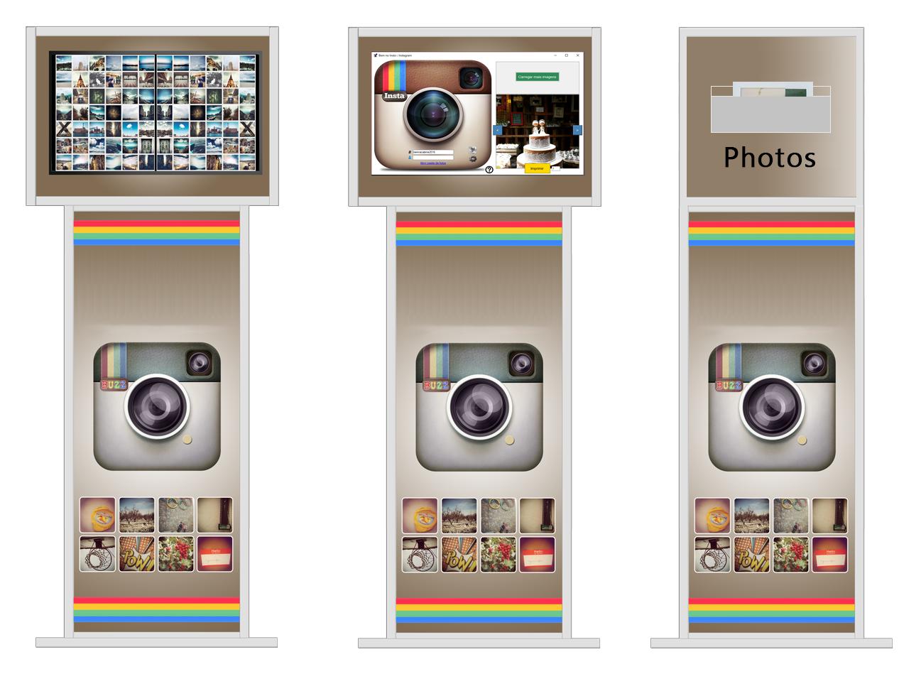 Software per la stampa - Instagram Hashtag